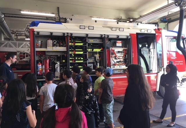 Die 4c bei der Feuerwehr