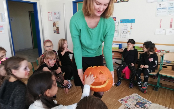 Halloween with Miss Jeannie